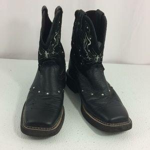 Justin Gypsy Women's Boots Black Size 9B L9977